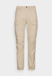 CONNER CARGO JOGGER - Cargo trousers - beige