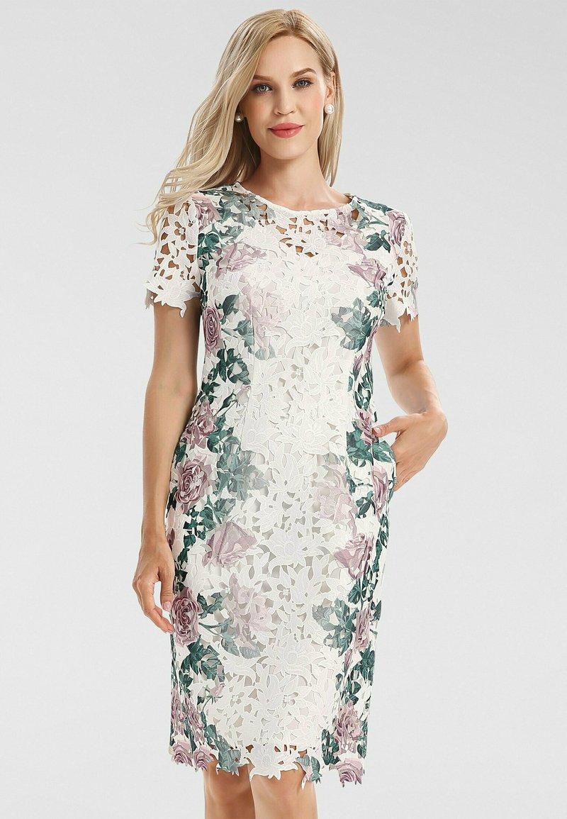 Apart - Cocktail dress / Party dress - creme-multicolor