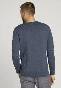 TOM TAILOR - Sweatshirt - vintage indigo blue melange - 2