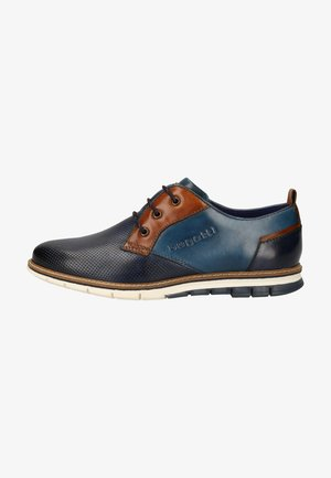 Smart lace-ups - dark blue/blue