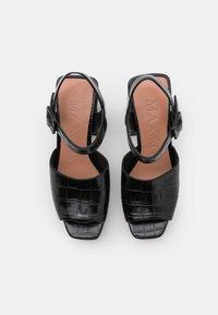 MAX&Co. - BREST - Sandalen met hoge hak - black - 4