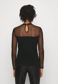 Morgan - TAPLU - Camiseta de manga larga - noir - 2