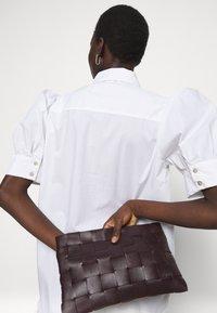 Bruuns Bazaar - ROSIE ALISE - Shirt dress - white - 3