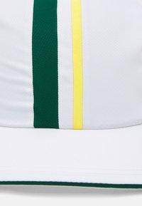 Lacoste Sport - TOUR UNISEX - Cap - white/swing daphne/yellow - 3