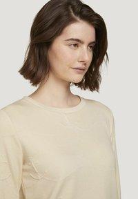 TOM TAILOR DENIM - Sweatshirt - soft creme beige - 3