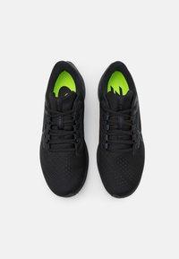 Nike Performance - AIR ZOOM PEGASUS 38 - Neutrala löparskor - black/anthracite/volt - 3