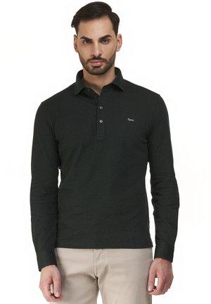 BASIC ML POLSO CAMICIA - Polo shirt - petrolio