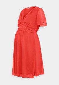 Noppies - DRESS DORRIS - Cocktail dress / Party dress - poinsettia - 0