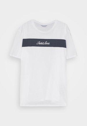 JORNEWCOARSE TEE CREW NECK - Print T-shirt - cloud dancer
