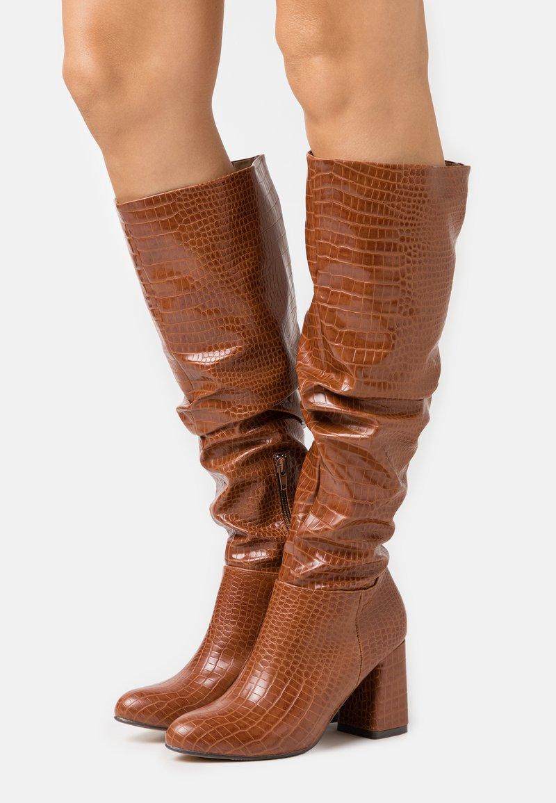 4th & Reckless - HADLEY - Vysoká obuv - tan