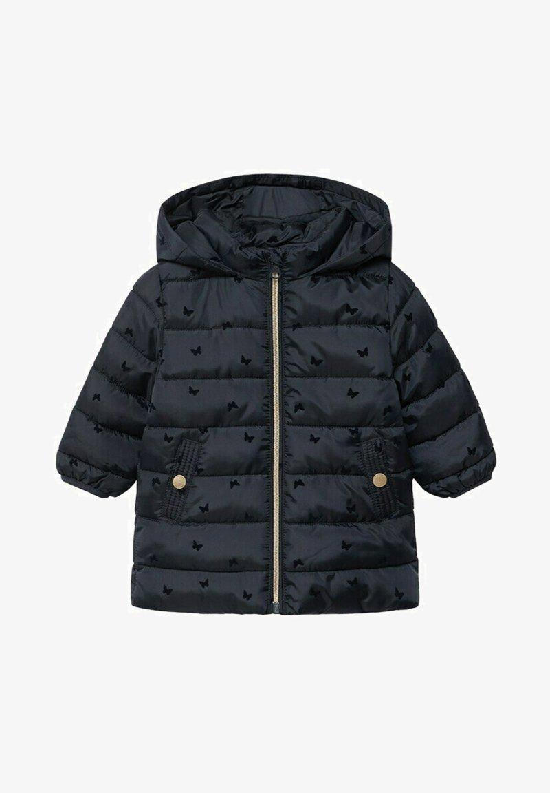 Mango - ANORAK - Winter coat - dark navy