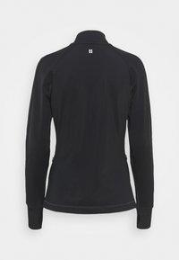 Sweaty Betty - THERMODYNAMIC HALF ZIP REFLECTIVE - Fleece jumper - black - 7