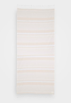 FRINGE BENEFITS TURKISH TOWEL SET - Telo mare - pink/sand