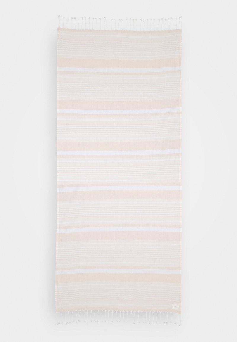 Seafolly - FRINGE BENEFITS TURKISH TOWEL SET - Serviette de plage - pink/sand