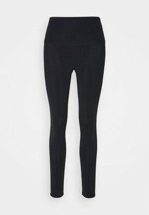 HIGH RISE LEGGING - Legging - black