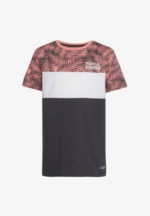 MIT HD-SCHRIFTZUG - Print T-shirt - anthracite