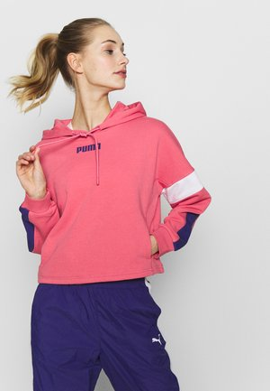 STUDIO CLASH ACTIVE HOODIE - Jersey con capucha - rapture rose