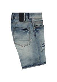 Vingino - CLAAS DAMAGE - Denim shorts - light vintage - 2