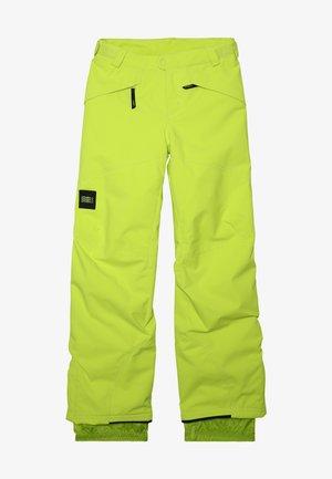 ANVIL PANTS - Snow pants - lime punch