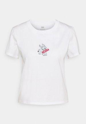 GRAPHIC SURF TEE - T-shirt imprimé - donkey baby tab white