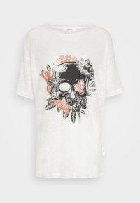 Be Edgy - BECHUCK - Print T-shirt - white - 3