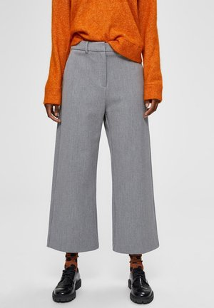 Pantalon classique - light grey melange