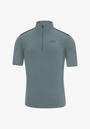 "GORE WEAR HERREN LAUFSHIRT ""R5"" KURZARM - Print T-shirt - grey"