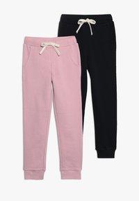 Friboo - 2 PACK - Träningsbyxor - cameo pink/black - 0