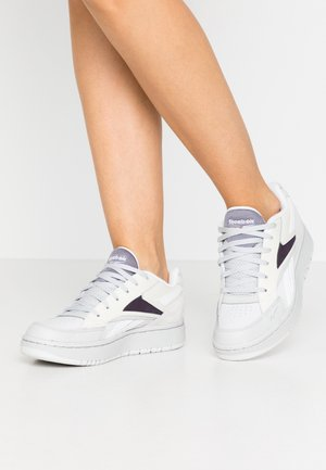 COURT DOUBLE MIX - Sneakers laag - porcel/chalk/midnight shadow