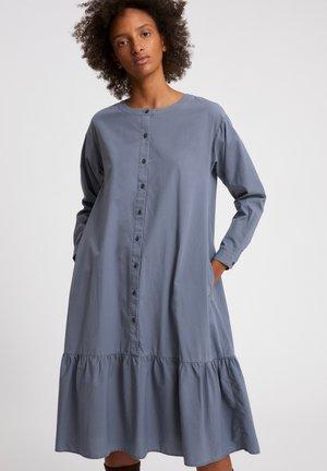 MIHAELAA EARTHCOLORS® - Shirt dress - natural indigo