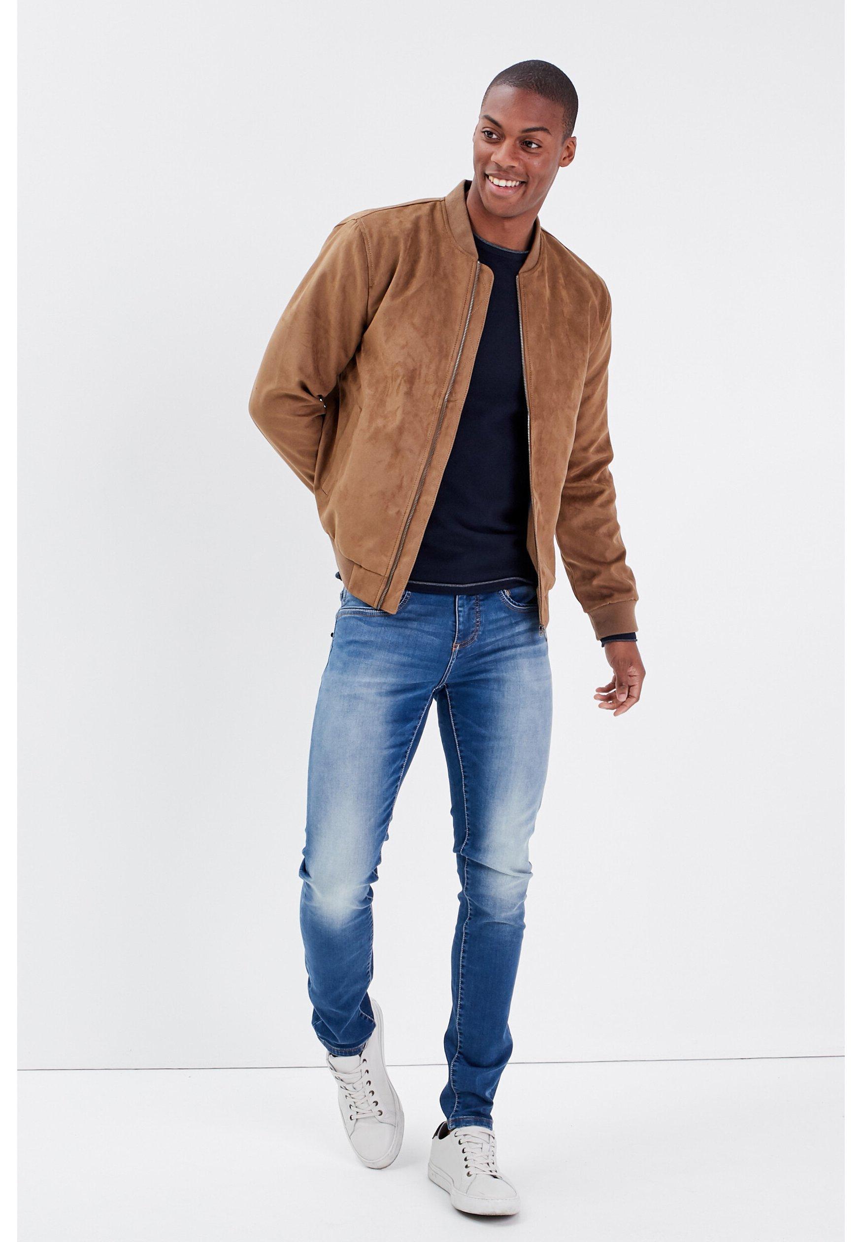 Uomo BONOBO ULTRA-STRETCH - Jeans slim fit