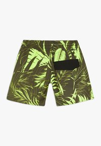 O'Neill - CALI FLORAL - Swimming shorts - green/yellow - 1