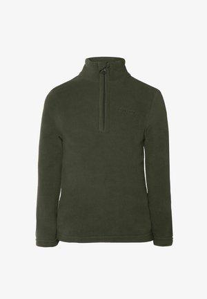 TOP PERFECT  - Fleecejacka - huntergreen