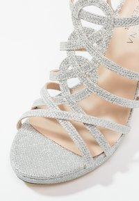 Menbur - BEGONIA - High heeled sandals - plata - 6