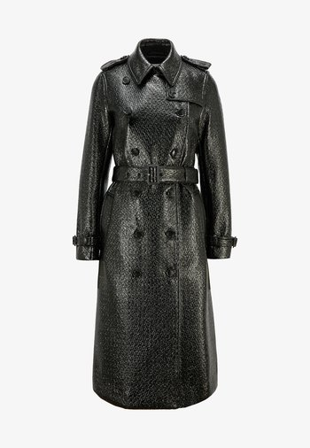 COMELINA - Trenchcoat - black