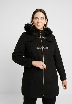DUFFLE COAT - Short coat - black