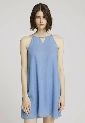Robe en jean - light stone bright blue denim
