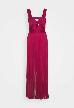 CUT OUT GOWN - Galajurk - maroon