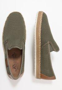Rieker - Nazouvací boty - vert/amaretto - 1