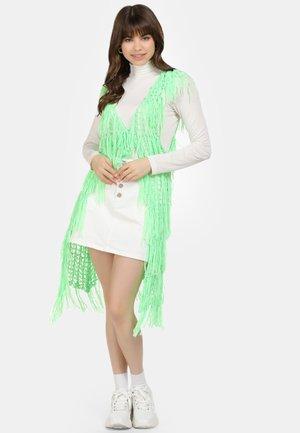 Waistcoat - neon grün