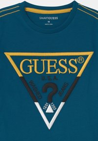 Guess - JUNIOR  - Print T-shirt - moroccan blue - 2