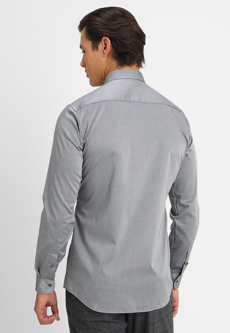 Eterna Slim Fit - Koszula Biznesowa Dark Grey