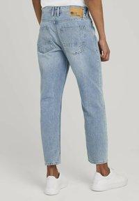 TOM TAILOR DENIM - Straight leg jeans - super stone blue denim - 1