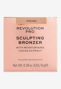Revolution PRO - SCULPTING BRONZER - Bronzer - cacao - 3