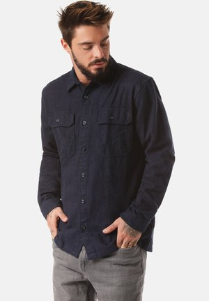 FJORD FLANNEL - Shirt - blue