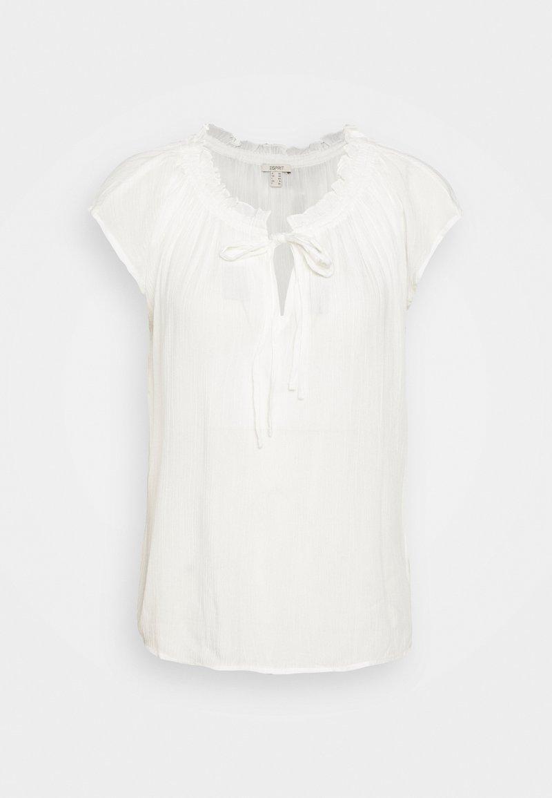 Esprit - BLOUSE - Print T-shirt - off white