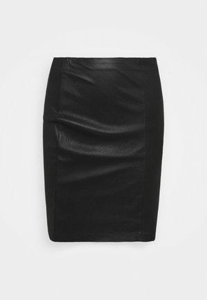 GABRIELLE SKIRT - Minisukně - black