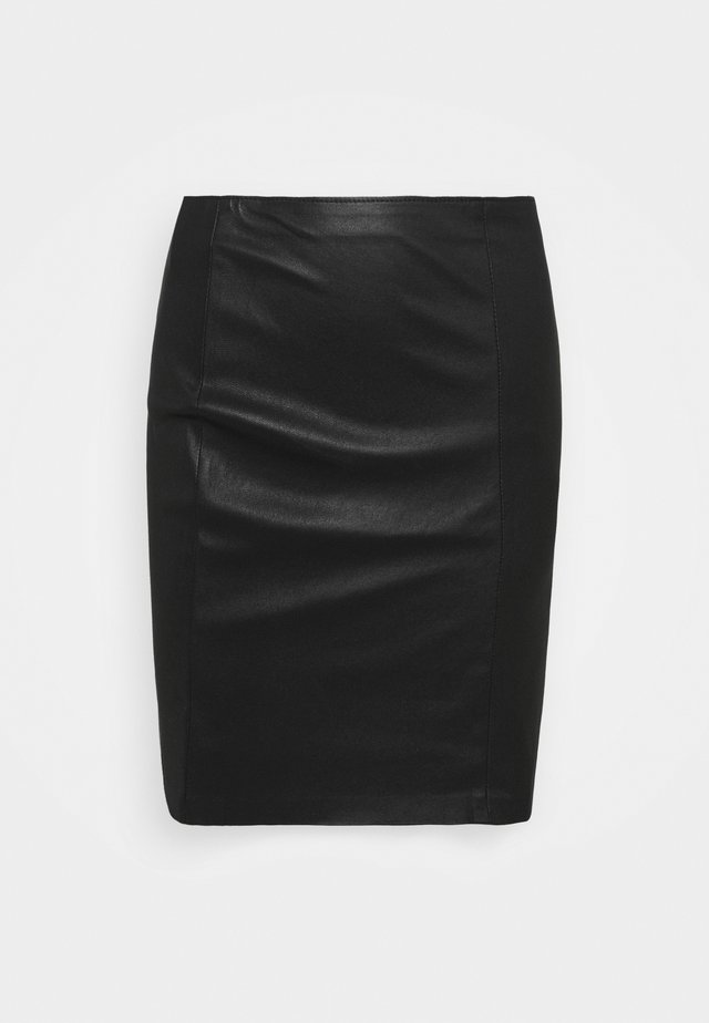 GABRIELLE SKIRT - Mini skirt - black