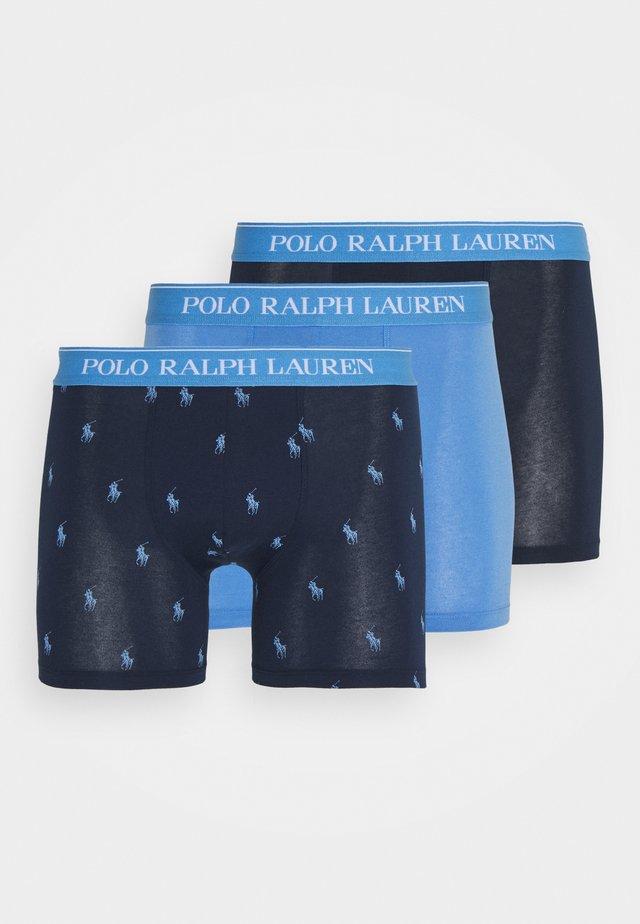 3 PACK - Panties - dark blue/light blue