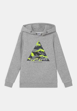JJPRIME HOOD - Sweatshirt - light grey melange